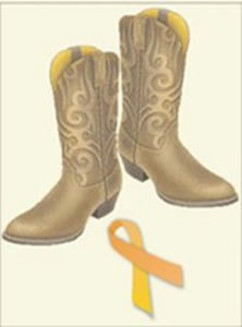 Kick up your boots for bladder cancer