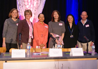 image of the panelists for the event