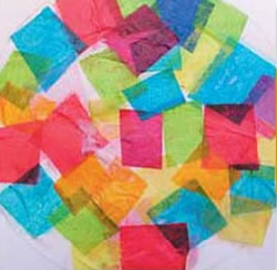 Tissue Paper Collage
