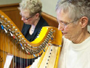 Music Therapy - harpists