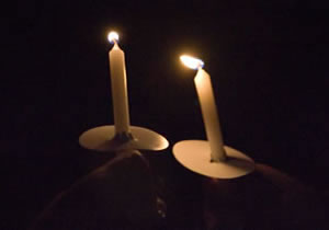 U-M candle lighting event remembers those who have died from cancer or a blood disorder