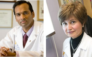 Arul Chinnaiyan, M.D., Ph.D. and Maha Hussain, M.D.