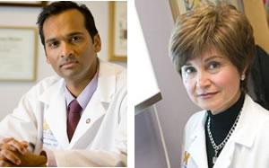 Arul Chinnaiyan, M.D., Ph.D. and Maha Hussain, M.D.
