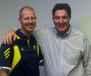 U-M Cancer Center, former football player recruit new teammate to help kick deadly blood cancer