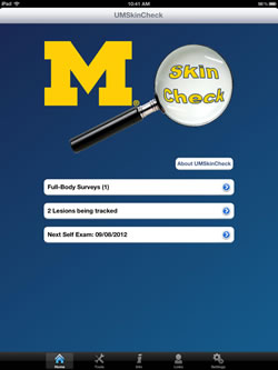 U-M offers new skin cancer mobile app