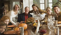 Image of family at Thanksgiving