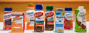 image of the various brands of liquid supplements