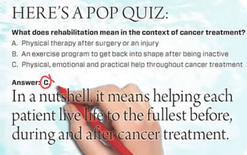 Cancer Rehabilitation Quiz