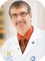 Harry Erba, M.D., Ph.D., a Cancer Center oncologist